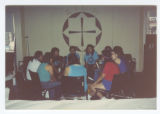Talking Circle at Two Spirits & HIV, 1991